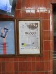 駅で見つけたミッシングチルドレンのポスター